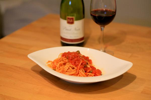 Spaghetti alla Puttanesca_20141013