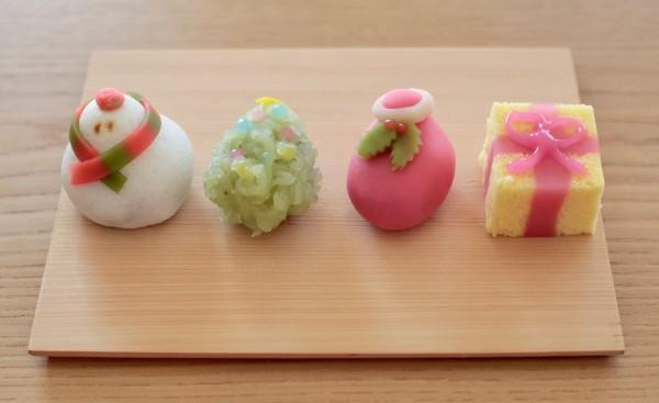 クリスマス和菓子20171225 - 1 / 1